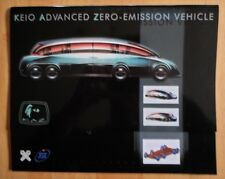 KEIO ADVANCED ZERO EMISSION 8 WHEEL LIMOUSINE Sales Brochure - KAZ ELIICA