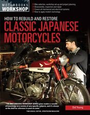 How to Rebuild and Restore Classic Japanese Motorcycles Book~Color Photos~NEW!