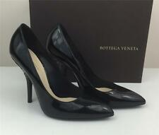 Authentic New in Box Bottega Veneta Black Patent Leather Pump $660 US8.5/38.5