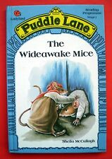 The Wideawake Mice vintage Ladybird book Puddle Lane children's tale McCullagh