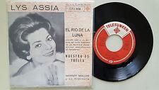 Lys Assia - El rio de la luna/ Nuestra estrella 7'' Single SUNG IN SPANISH