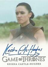 "Game of Thrones Season 6 - Keisha Castle-Hughes ""Obara Sand"" Autograph Card"