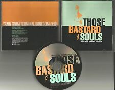 The Grifters THOSE BASTARD SOULS Train From Terminal Boredom PROMO DJ CD single