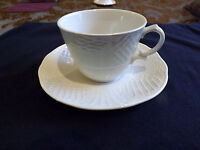 Marlborough Old English Ironstone by Simpsons Cup and Saucer