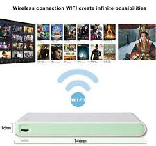 DLP100WM Mini Wifi Pico Projector home Multimedia Airplay HDMI USB TF 1080P