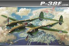 Academy Lockheed P-38F USAAF WWII Glacier Girl 1/48 12208 NEW 2016