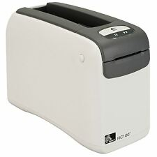 ZEBRA HC100 Patient ID Wristband Thermal Printer 300DPI 8MB SERIAL USB ETH NEW