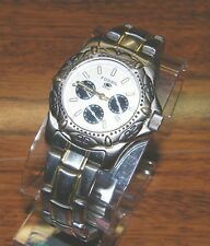 Fossil Blue Watch (BQ-9004) Stainless Steel & Water Resistant Up To 50 Meters