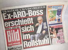 11.10.2014 * Bildzeitung * Bild Zeitung * Udo Reiter * Michelle Hunziker * ARD