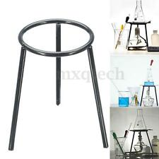 Lab Bunsen Burner/Cast Iron Support Stand/Alcohol Lamp Tripod Holder 13cm Height