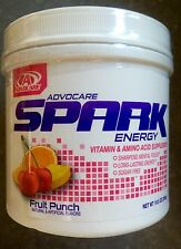 Advocare Spark Fruit Punch 42 canister Amino Acid - FAST SHIPPING!