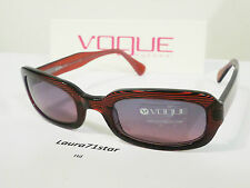 VOGUE 2211 Sripes Red Woman Donna  occhiali sole Sunglasses New Original
