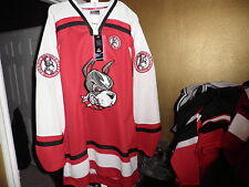 Colosseum Boston Terriers Throwback Hockey Starter Jersey xxl 2xl New! NWT