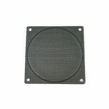140mm Steel Mesh Fan Filter (Guard), Black, Small Hole