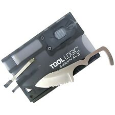Tool Logic Survival Card II Ultralight Tool Signal Whistle LED Light SVC2