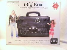 iBig Box Inflatable Boom Box w/2 Built in Speakers ipod Music Player- 4'+ TALL