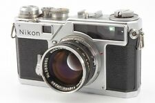 Nikon SP 35mm Rangefinder Film Camera w/ NIKKOR-S.C 5cm 50mm F/1.4 from JAPAN