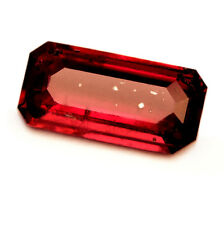 Certified Natural Untreated Unheated Royal Red Ruby 0.83ct Emerald Cut