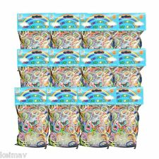 Loom Band Plastic Pack of 12 (Multicolor/2200 Looms)