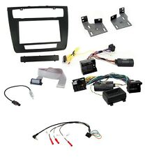CTKBM08 BMW 1 Series E81 E82 Complete Double Din Stereo Fitting Kit Auto Aircon