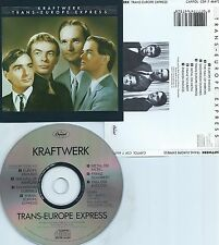 KRAFTWERK-TRANS-EUROPE EXPRESS-1977-RECORDED IN GERMANY/MADE IN HOLLAND-CD-NEW-