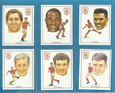 Cigarette/trade cards - ARSENAL CUP WINNERS 1992-1993 - Full mint condition set.