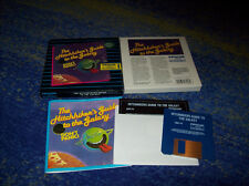 The Hitchhiker's Guide to the Galaxy Textadventure 1984 Dos BOX m.Anleitung usw.