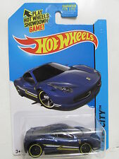 HOT WHEELS 2014 HW CITY -  SPEED TEAM FERRARI 458 ITALIA  BLUE