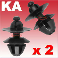 FORD STREET KA REAR BUMPER CORNER TRIM CLIPS FIXING FASTENER PLASTIC