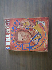 SPORTING NEWS 1975-76 OFFICIAL NBA GUIDE- RICK BARRY COVER