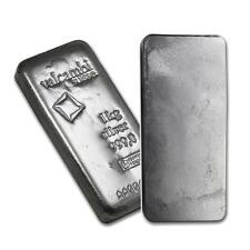 One piece 1 kilo 0.999 Fine Silver Bar Valcambi with Assay Lot 8571