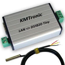 KMtronic LAN DS18B20 WEB Digital Température Monitor 1 Sensor (1 meter Cable)