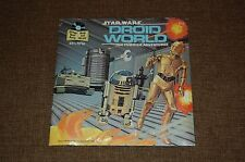 Star Wars Droid World-Read Along Book & Record Brand New Sealed R2D2 C3PO