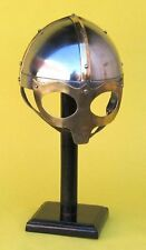 Ocular Viking Mask Deluxe Armor Helmet W/LEATHER LINER -Ancient Replica Costume