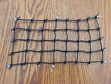 "NEW SIZE/ 9""X 5.5"" Fits JC Off Road Cargo Elastic Net For RC TRUCK.....BLACK"