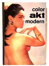 color akt modern  Fravex Verlagsgesellschaft  Erste Auflage 1967 mit 64 Seiten
