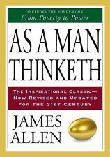 As A Man Thinketh & From Poverty To Power by James Allen (2008, Paperback, Re...