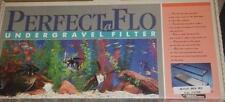 Perfect-A-Flo Undergravel Fish Aquarium Filter 48 Flat Back Hex NEW