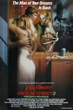 A Nightmare On Elm Street movie poster 11 x 17 inches - Part 2 Freddy's Revenge
