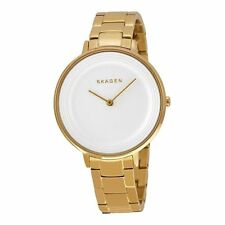 SKAGEN Ditte Gold-tone Stainless Steel Ladies Watch SKW2330 -2 YRS WARRANTY