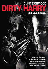 Clint Eastwood Dirty Harry Collection, 5 DVDs/5 Movies LIKE NEW Ships FREE