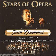 JOSE CARRERAS - Stars Of Opera: Jose Carreras Live (UK 16 Tk CD Album)