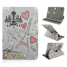 "FOR Asus - TF300T 10.1"" inch Tablet Eiffel Tower Chandelier Heart Cat CASE COVER"