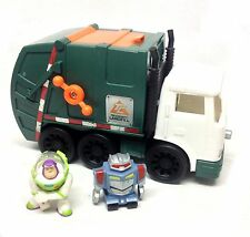 Fisher Price IMAGINEXT TOY STORY SUNNYDALE DUMP TRUCK & Figures toy, RARE ITEM!