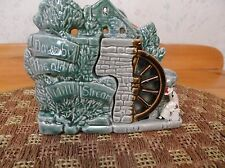 Vintage McCoy Pottery Down By The Old Mill Stream Planter *HTF Rare Coloring*
