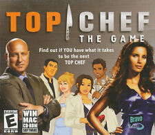 TOP CHEF The Game - Cooking Show Simulation For Windows & Mac - NEW SEALED!