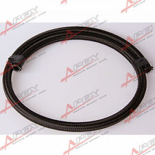 Black Nylon Cover Braided 1500 PSI -8AN AN8 Oil Fuel Gas Line Hose Foot