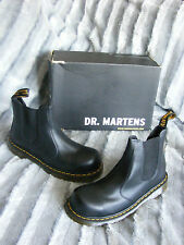 NEW MENS DR MARTENS FS27 DEALER BLACK SAFETY STEEL TOE WORK BOOTS UK 7 EU 41