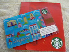 Singapore ,Starbucks,,new gift card, 0412 Singapore with folder
