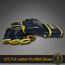 KRAV MAGA PRO UFC MMA LEATHER GLOVES L LARGE - for Fighters & Warriors